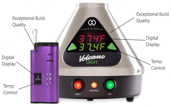 High-end vaporizers